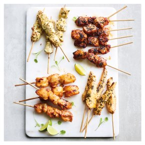 Chicken Kebab selection