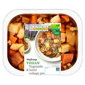 Waitrose Vegetable & Lentil Cottage Pie