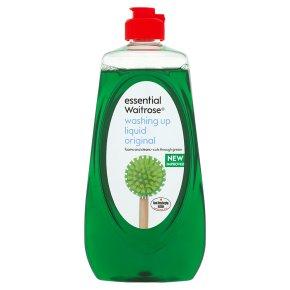 essential Waitrose washing up liquid, original
