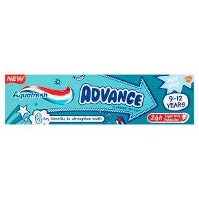 Aquafresh Advance 9-12yrs Toothpaste