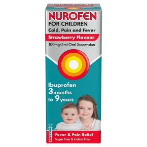 Nurofen ibuprofen for children