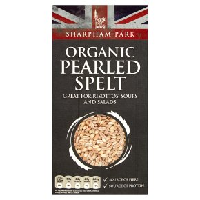 Sharpham Park organic Pearled Spelt