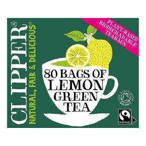 Clipper 80 Green Tea & Lemon
