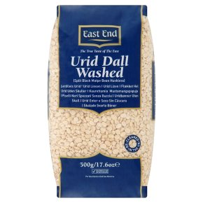 East End urid dall washed