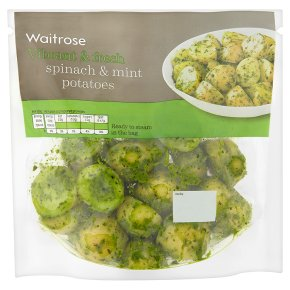 Waitrose Spinach & Mint Potatoes