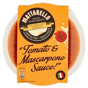 Mattarello Mascarpone Sauce