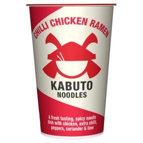 Kabuto noodles chilli chicken ramen pot