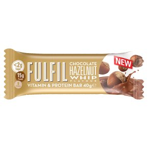Fulfil Chocolate Hazelnut Whip Bar