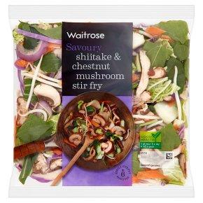 Waitrose Shiitake & Chestnut Mushroom Stir Fry