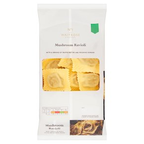 No.1 Mushroom Ravioli with Truffle