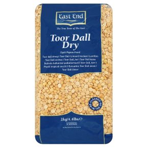 East End toor dall dry
