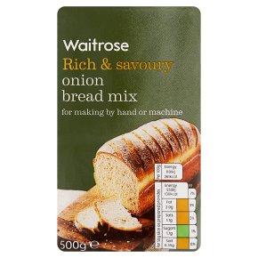 Waitrose onion bread mix