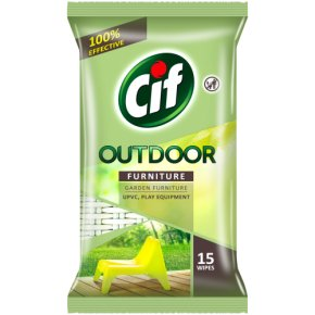 Cif Outdoor Furniture Wipes x15