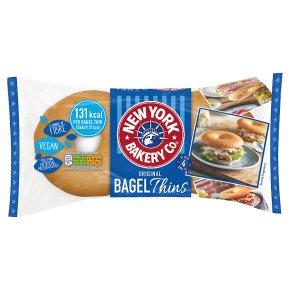 New York Bagel Co Original Bagel Thins