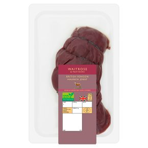 Waitrose British Venison Haunch Joint