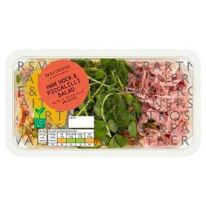 Waitrose Ham Hock & Piccalilli Salad