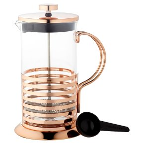 Waitrose Dining 8 Cup Copper Cafetiere