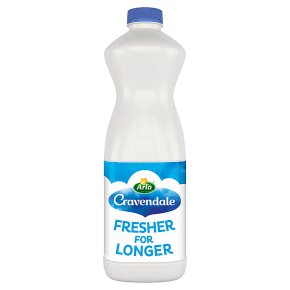 Cravendale fresh filtered whole milk