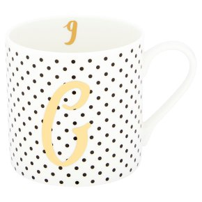 Waitrose 'G' Bone China Mug