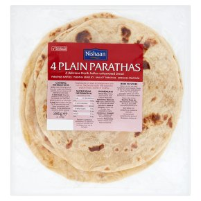 Nishaan 4 plain parathas