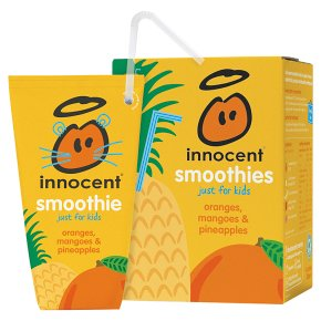 Innocent for Kids Oranges Mangoes & Pineapples