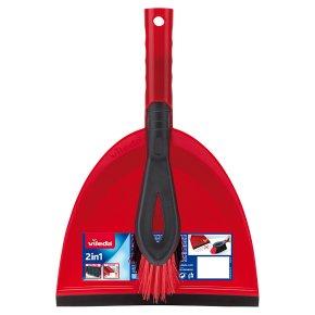 Vileda 2in1 Dustpan & Brush