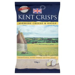 Kent crisps Ashmore cheese & onion