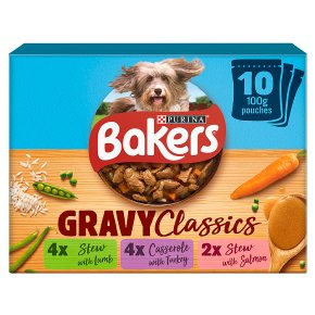 Bakers Home Classics Dog Food Meat Flavours