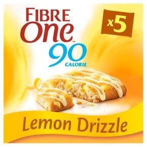 Fibre One 90 Calorie Lemon Drizzle Bars