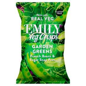 Emily Veg Crisps French Beans, Sugar Snap Peas, Edamame
