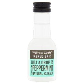 Waitrose Cooks' Homebaking peppermint extract