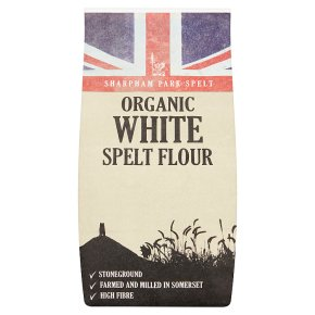 Sharpham Park organic spelt stoneground flour