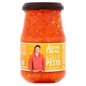 Jamie Oliver Chilli & Garlic Pesto