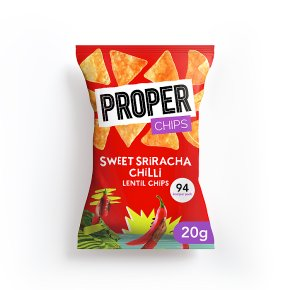 Properchips Lentil Chips Sriracha