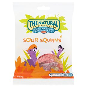 The Natural Confectionery Company sour squirms sweets bag