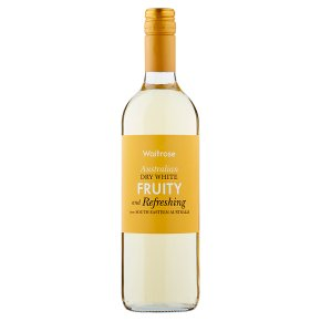 Waitrose Fruity & Refreshing Dry Australian White Wine