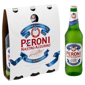 Peroni Nastro Azzurro Bottles