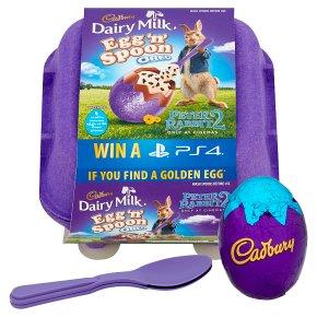 Cadbury Dairy Milk Egg n Spoon Chocolate Oreo Filled Eggs 4 Pack