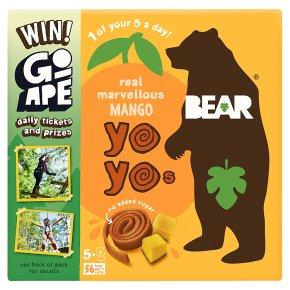 Bear for kids 100% fruit mango yo yos