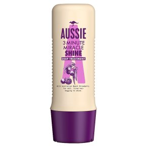 Aussie 3 Minute Miracle Shine Deep Treatment