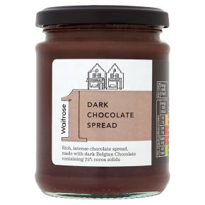 Waitrose 1 dark chocolate spread