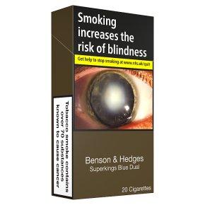Benson & Hedges Blue Dual Superkings