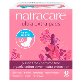 Natracare Ultra Extra Pads Super