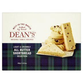 Dean's all butter shortbread selection
