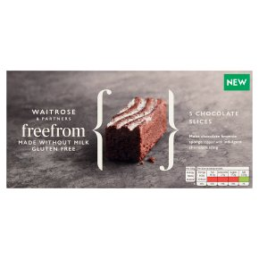 Waitrose Free From 5 Chocolate Slices