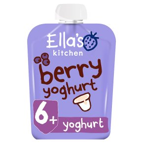 Ella's kitchen berry yummy yoghurt Greek style