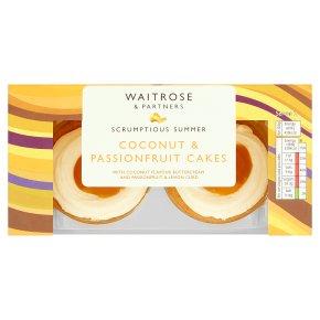 Waitrose Coconut & Passionfruit Cakes