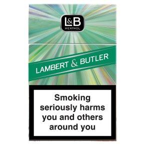 Lambert & Butler menthol