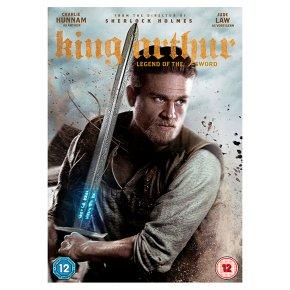 DVD King Arthur Legend of the Sword