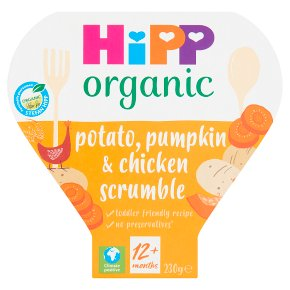 Hipp organic growing up meal chicken scrumble